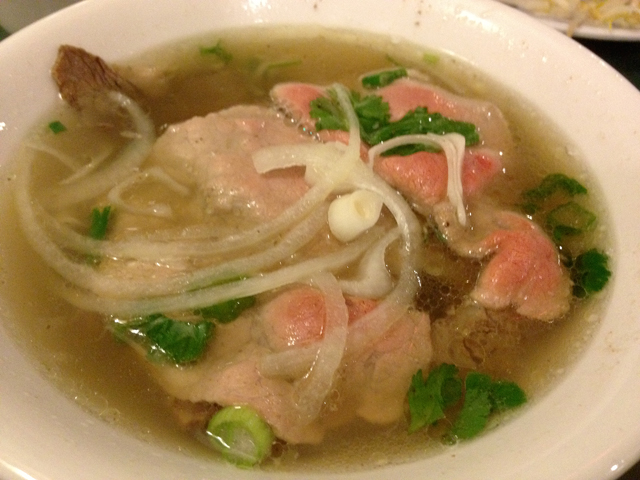 beef soup from Nha Trang in Jersey City